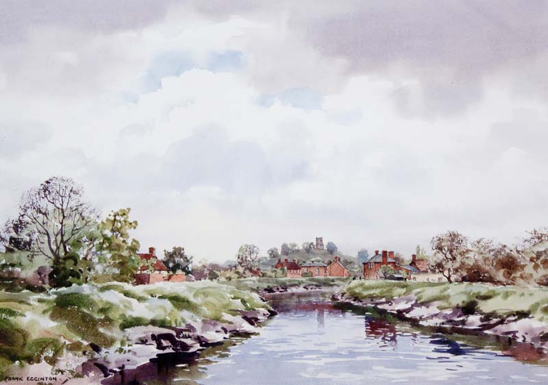 Frank Egginton RCA (1908-1990), Riverscape at Morgan O'Driscoll Art Auctions