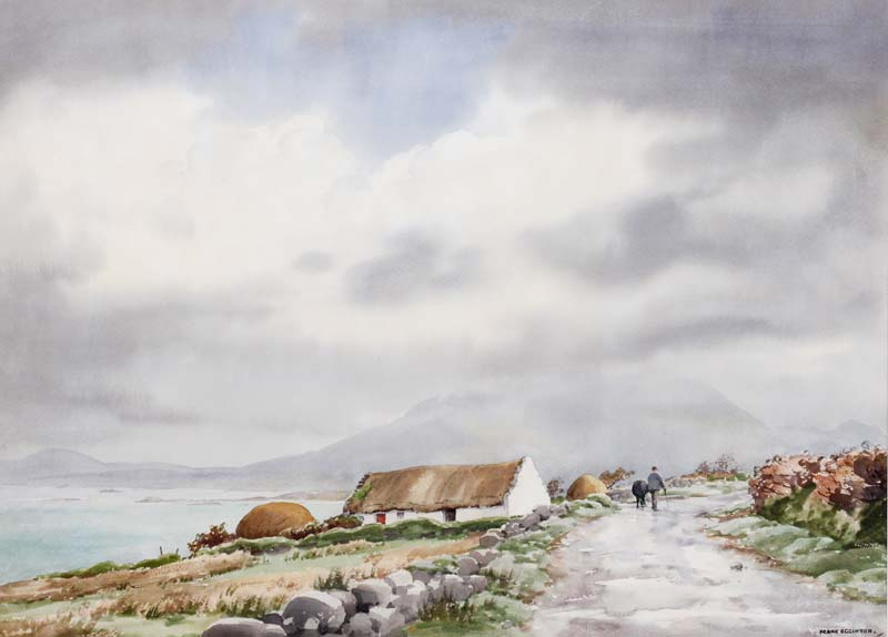 Frank Egginton RCA (1908-1990), Near Renvyle, Connemara at Morgan O'Driscoll Art Auctions