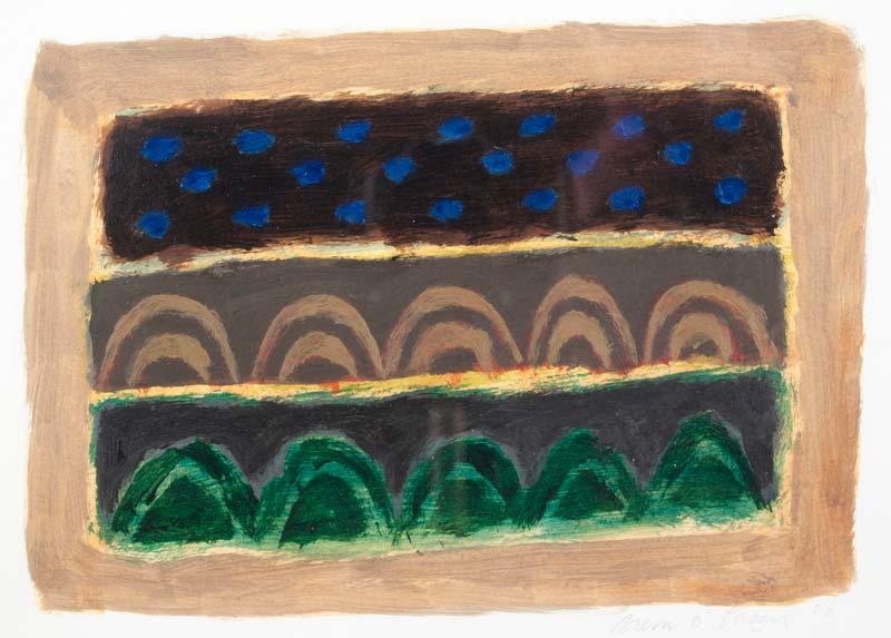 Breon O'Casey (1928-2011), Dark Landscape at Morgan O'Driscoll Art Auctions