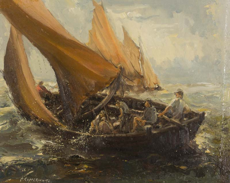 Patrick Copperwhite (20th/21st Century), Rough Seas at Morgan O'Driscoll Art Auctions