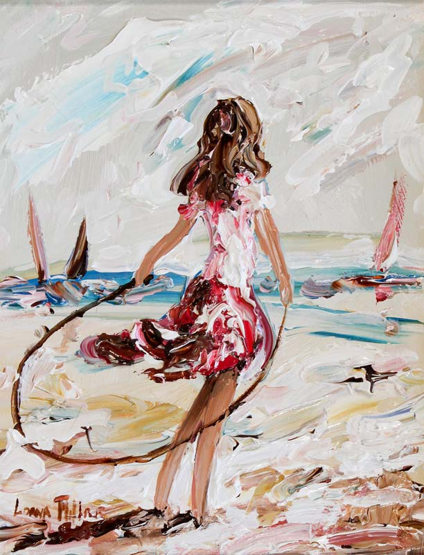 Lorna Millar (20th/21st Century), Skipping at Morgan O'Driscoll Art Auctions