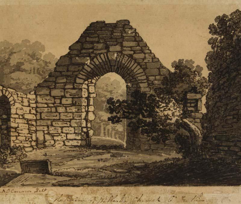 James Arthur O'Connor (1792-1841), The Ruins of Killester Church, Co. Dublin at Morgan O'Driscoll Art Auctions
