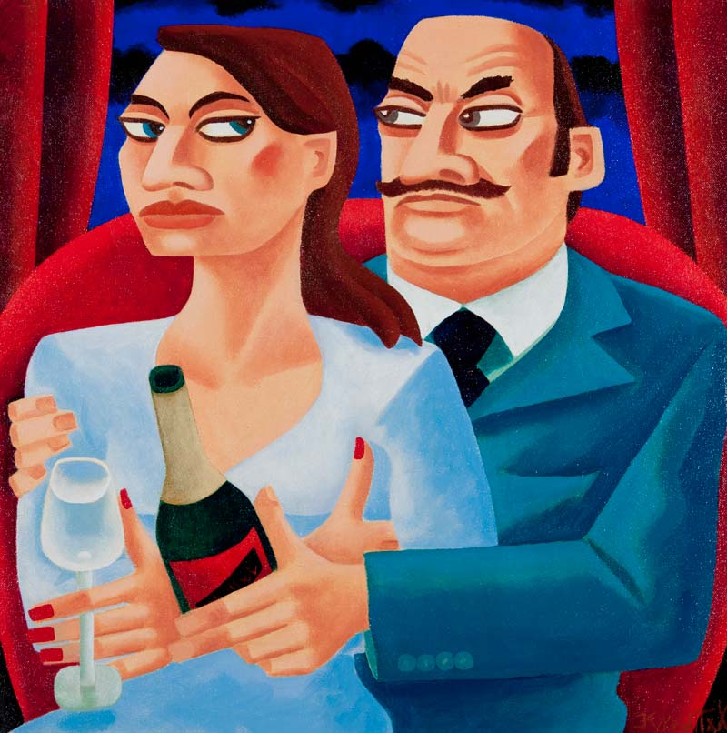 Graham Knuttel (b.1954), A Fine Romance at Morgan O'Driscoll Art Auctions