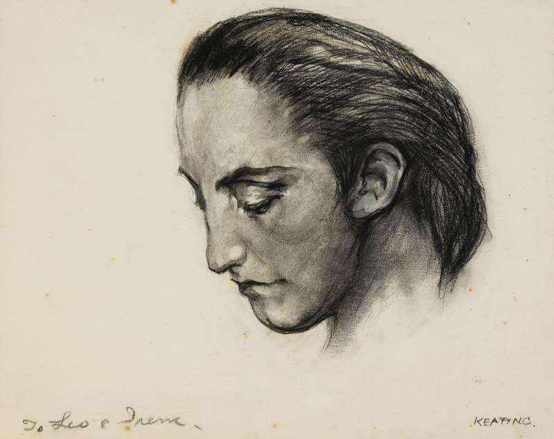 Sean Keating PRHA HRA  HRSA (1889-1978), Bean Og at Morgan O'Driscoll Art Auctions