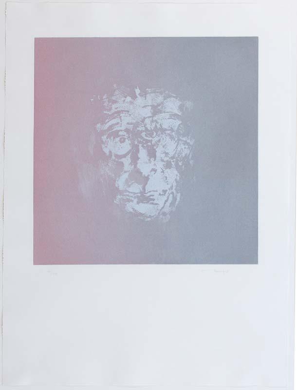 Louis Le Brocquy HRHA (b.1916), Beckett at Morgan O'Driscoll Art Auctions