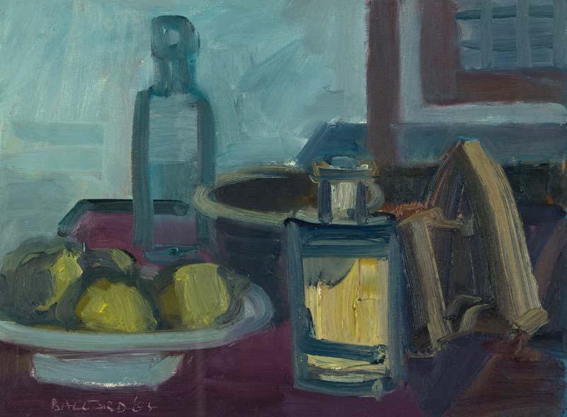 Brian Ballard RUA (b.1943), Still Life with Iron at Morgan O'Driscoll Art Auctions