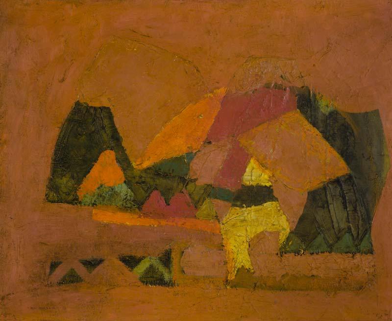Padraig MacMiadhachain RWA (b.1929), Abstract at Morgan O'Driscoll Art Auctions