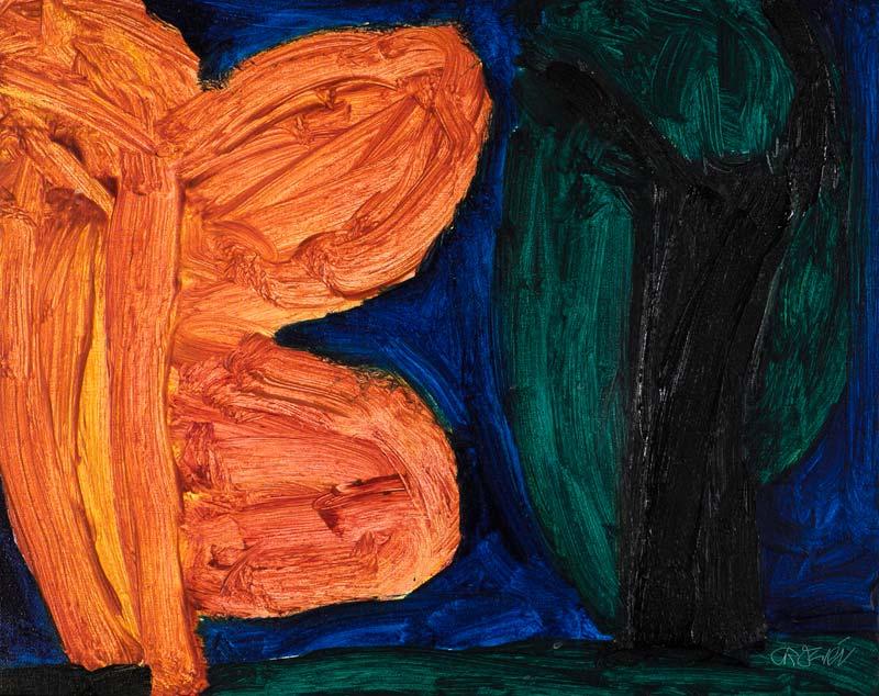 William Crozier HRHA (1930-2011), Mountain Oak at Morgan O'Driscoll Art Auctions