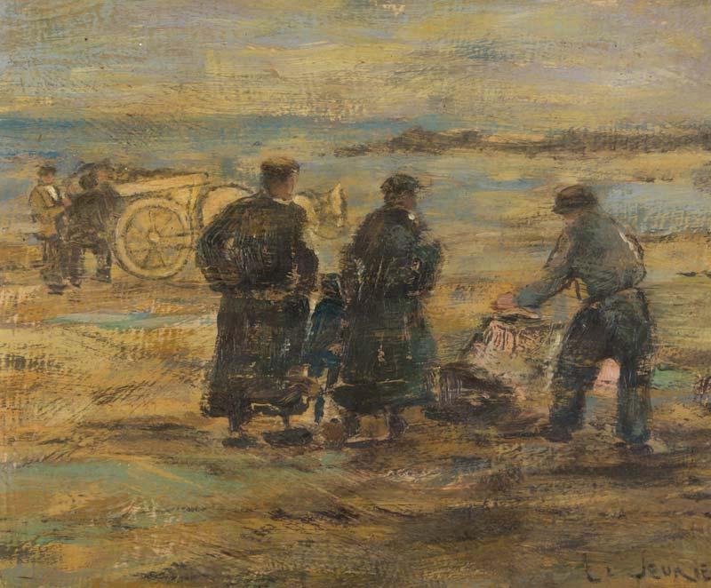 James LeJeune RHA (1910-1983), The Harvesters at Morgan O'Driscoll Art Auctions