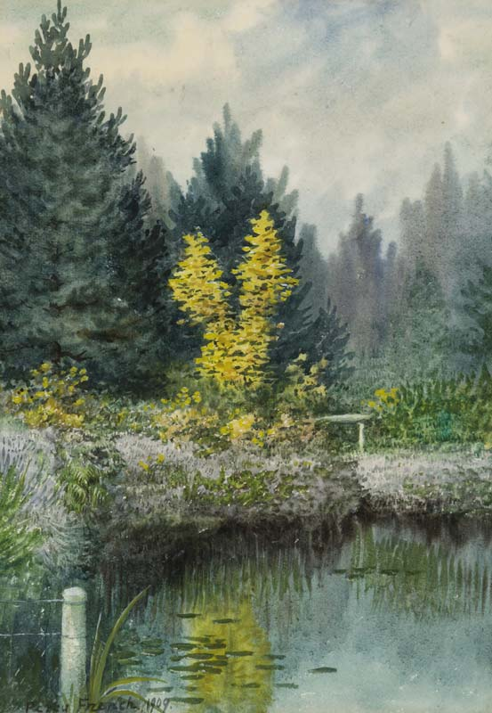 Percy French (1854-1920), Reflections II at Morgan O'Driscoll Art Auctions