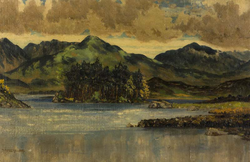 Mabel Young (1889-1974), Derryclare Lake, Connemara at Morgan O'Driscoll Art Auctions