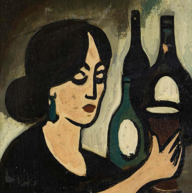 Markey Robinson (1918-1999), At the Bar at Morgan O'Driscoll Art Auctions