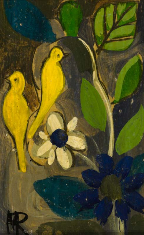 Markey Robinson (1918-1999), Yellow Birds at Morgan O'Driscoll Art Auctions