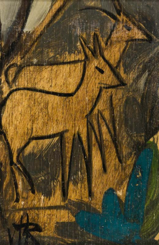 Markey Robinson (1918-1999), Deer in the Forest at Morgan O'Driscoll Art Auctions