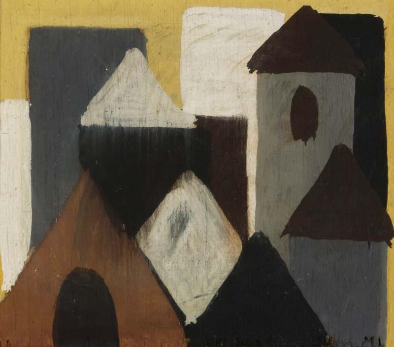 Markey Robinson (1918-1999), Rooftops at Morgan O'Driscoll Art Auctions