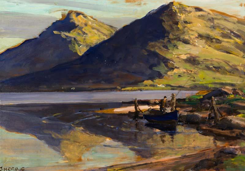 James Humbert Craig RHA RUA (1878-1944), Leenane, Connemara at Morgan O'Driscoll Art Auctions