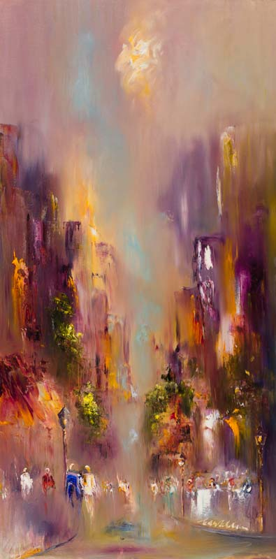 Carol Ann Waldron (20th/21st Century), City Heights at Morgan O'Driscoll Art Auctions