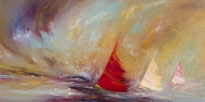 Carol Ann Waldron (20th/21st Century), The Race is On at Morgan O'Driscoll Art Auctions