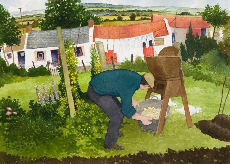James McIntyre (fl.1898), Turnip Grinder at Morgan O'Driscoll Art Auctions
