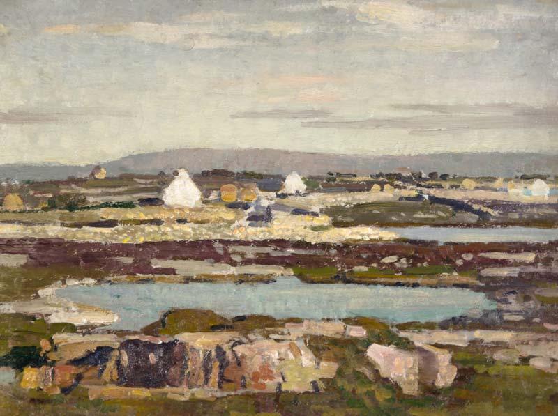 Stanley Royle (1888-1961), Landscape Near Cliften, Connemara, 1953 at Morgan O'Driscoll Art Auctions