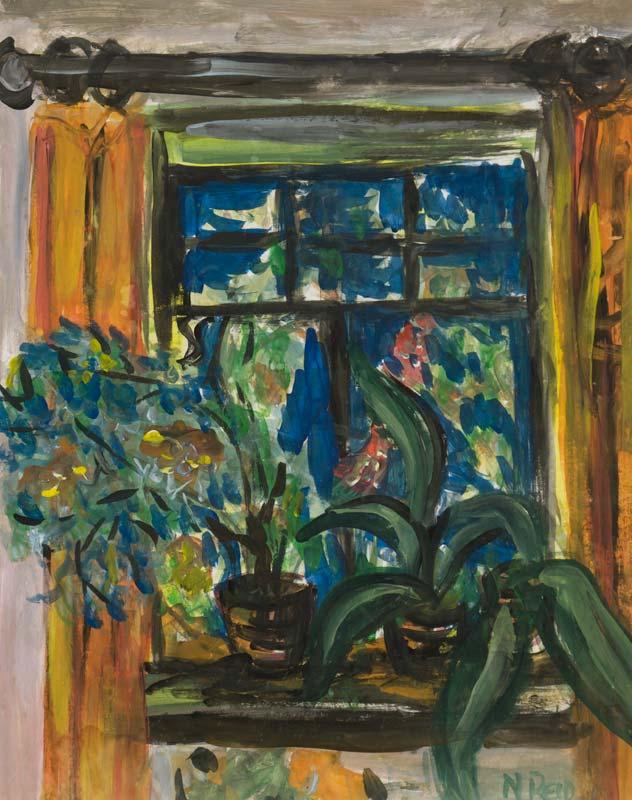 Nano Reid RHA (1905-1981), Still Life by Window at Morgan O'Driscoll Art Auctions