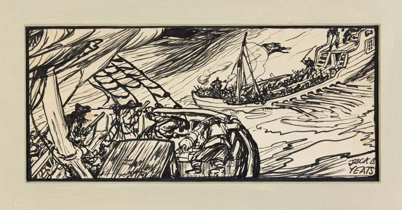 Jack Butler Yeats RHA (1871-1957), Stormy Seas at Morgan O'Driscoll Art Auctions