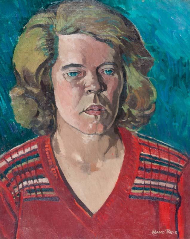 Nano Reid RHA (1905-1981), Portrait of a Lady at Morgan O'Driscoll Art Auctions