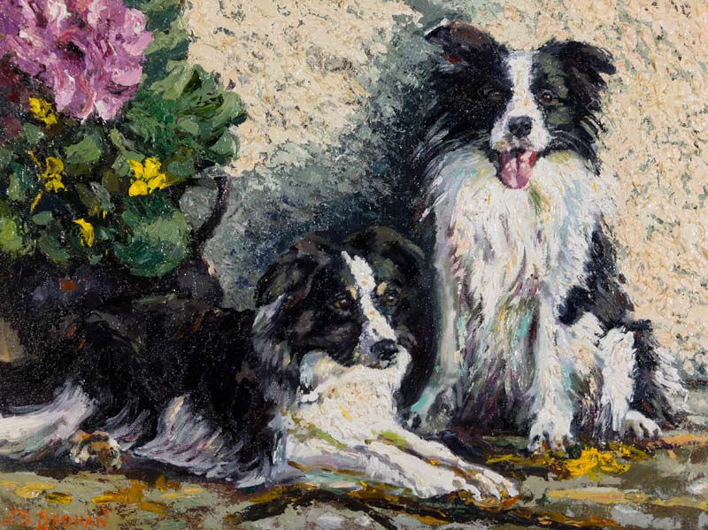 James S. Brohan (20th/21st Century), Collies at Morgan O'Driscoll Art Auctions