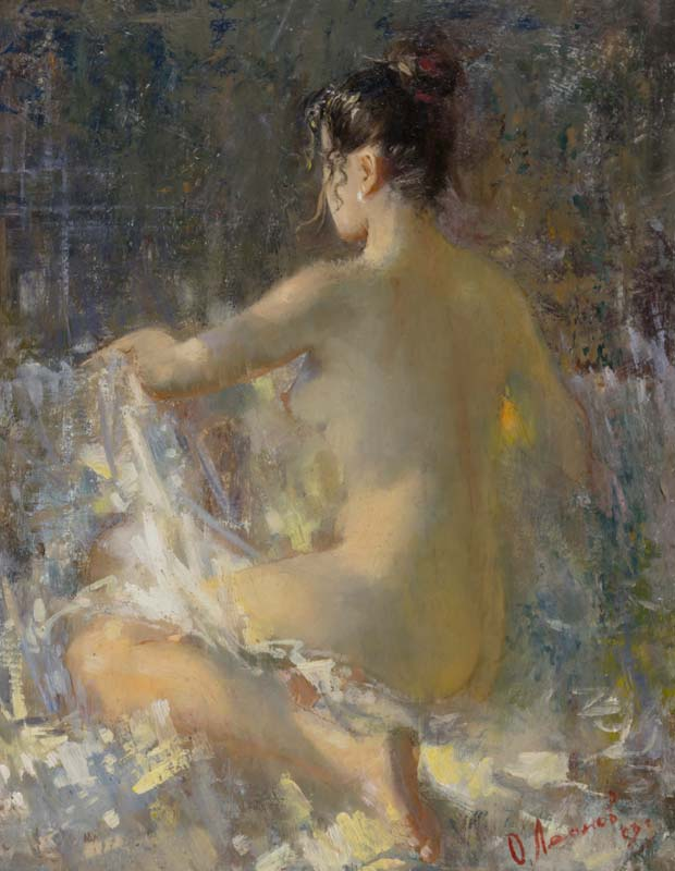 Oleg Leonov (20th/21st Century) Russian, Nude at Morgan O'Driscoll Art Auctions