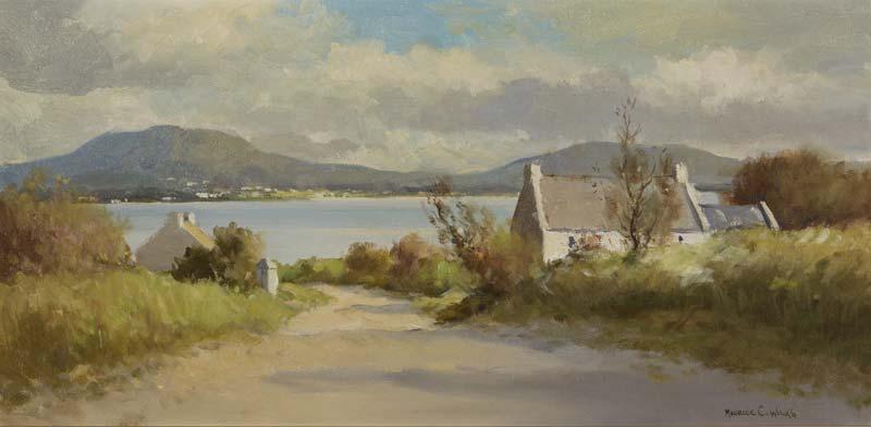 Maurice Canning Wilks ARHA RUA (1911-1984), Lough Road at Morgan O'Driscoll Art Auctions