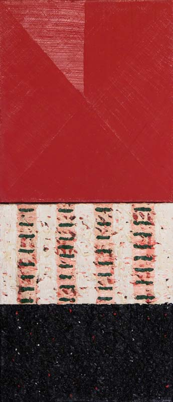 John Noel Smith (b.1952), Red Abstract at Morgan O'Driscoll Art Auctions
