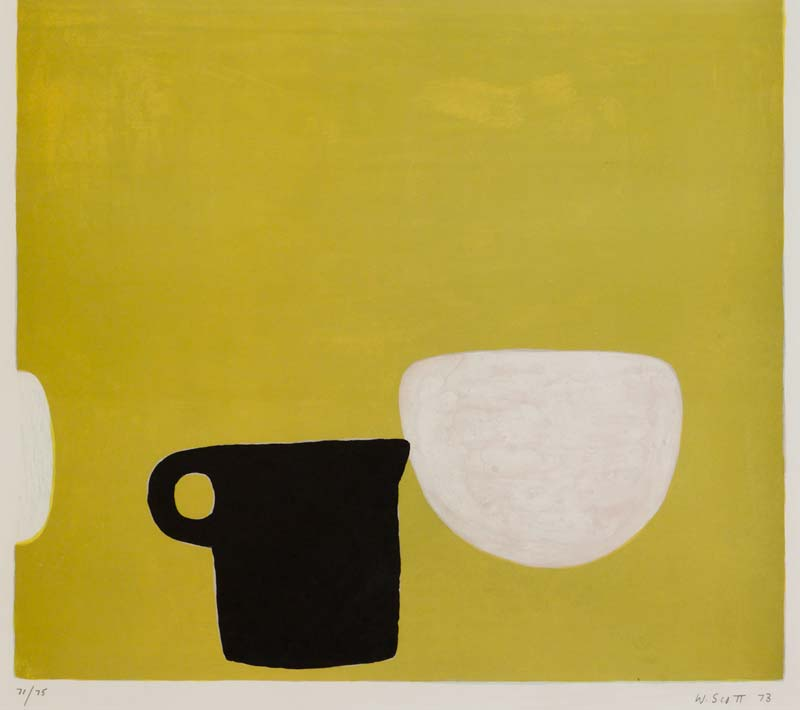 William Scott OBE RA (1913-1989), Still Life on Yellow at Morgan O'Driscoll Art Auctions