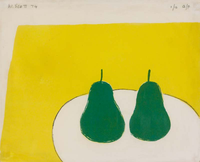 William Scott OBE RA (1913-1989), Green Pears at Morgan O'Driscoll Art Auctions