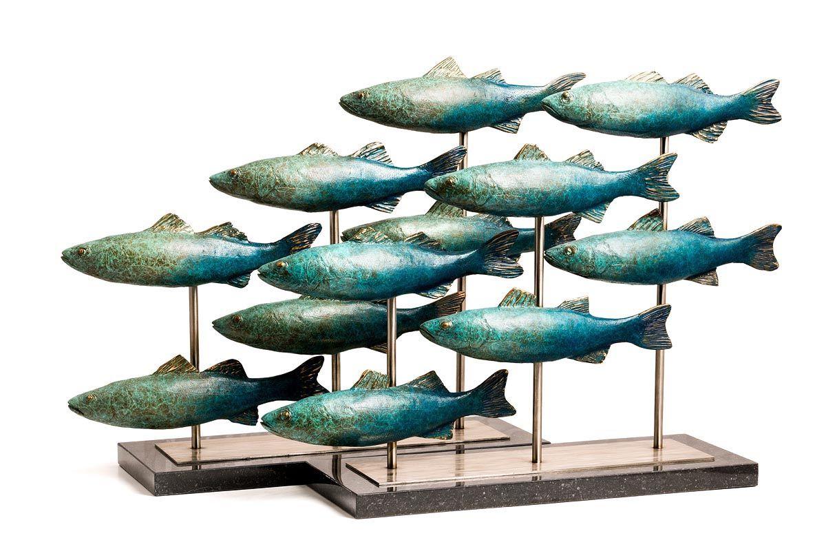 Andy McCarthy, Shoal of Fish at Morgan O'Driscoll Art Auctions