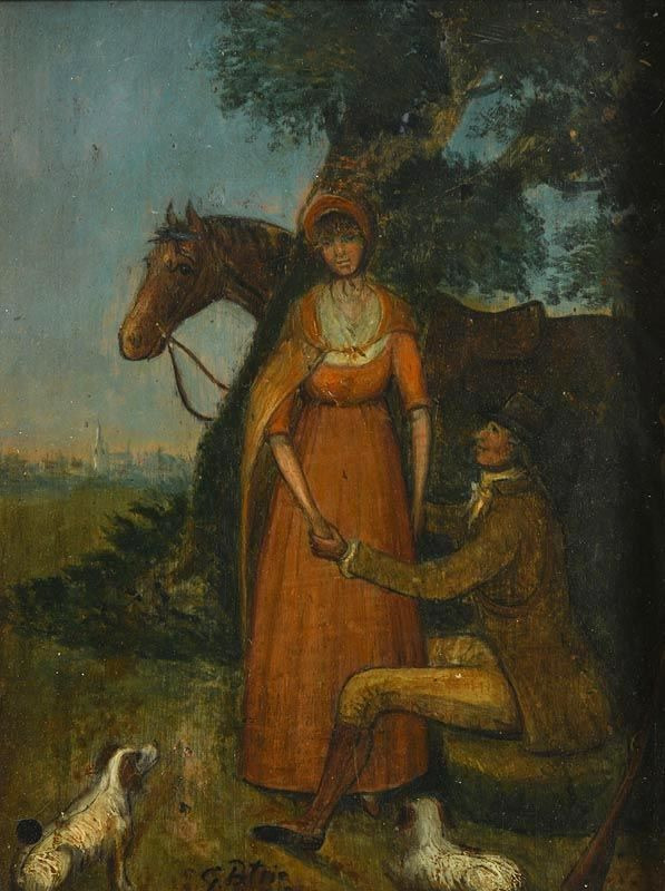 George Petrie, The Proposal at Morgan O'Driscoll Art Auctions