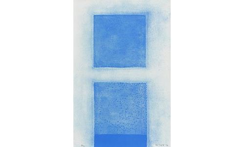 William Scott, Blue Abstract at Morgan O'Driscoll Art Auctions