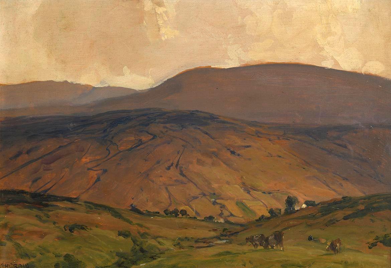 James Humbert Craig, Ora Mountain, Cushendun at Morgan O'Driscoll Art Auctions