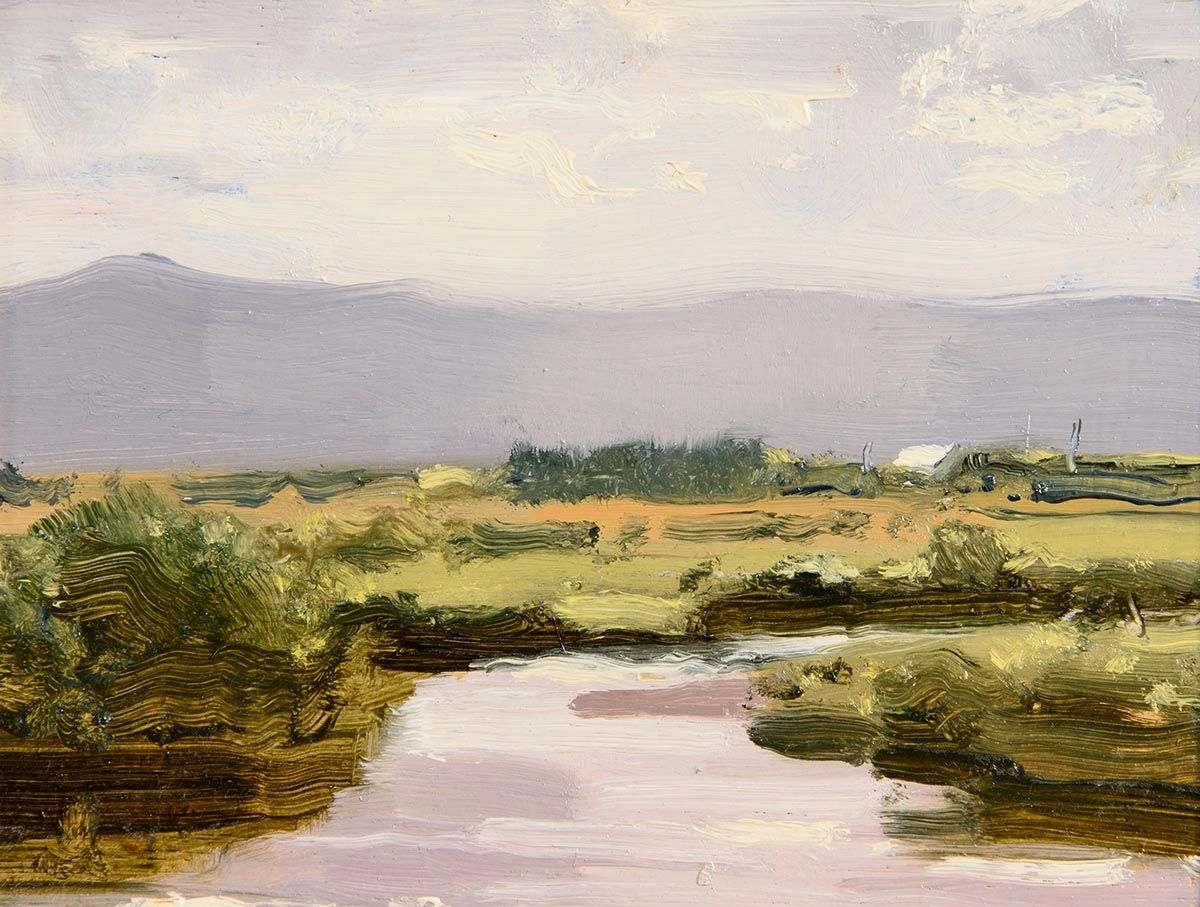Peter Curling, Nephin Beag From Sheehan, Mayo at Morgan O'Driscoll Art Auctions