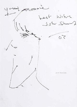 John Shinnors (b.1950), Portrait of Maurice Desmond at Morgan O'Driscoll Art Auctions