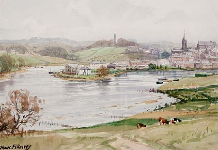 Frank McKelvey RHA RUA (1895-1974), Above the River's Bend at Morgan O'Driscoll Art Auctions