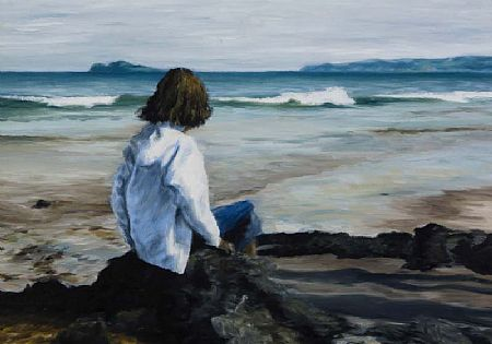 Ronan Goti (20th/21st Century), Breaking Waves, Portmarnock at Morgan O'Driscoll Art Auctions