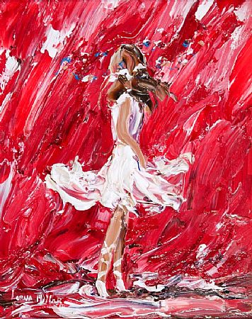 Lorna Millar (20th/21st Century), Dancer on Red at Morgan O'Driscoll Art Auctions