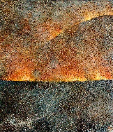 Tim Goulding (b.1945), Land Burn II at Morgan O'Driscoll Art Auctions