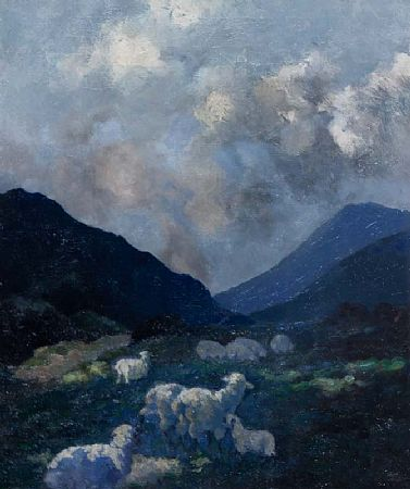 Lillian Lucy Davidson ARHA (1893-1954), Bluebells, Connemara at Morgan O'Driscoll Art Auctions