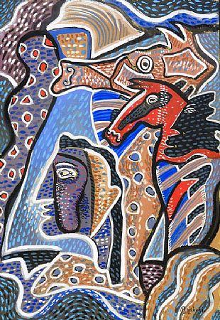 Basil Ivan Rakoczi (1908-1979), Seahorses at Morgan O'Driscoll Art Auctions