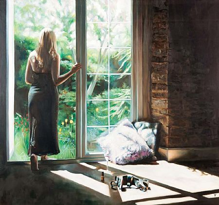 Tina Spratt (20th/21st Century) English, Sunday Afternoon at Morgan O'Driscoll Art Auctions