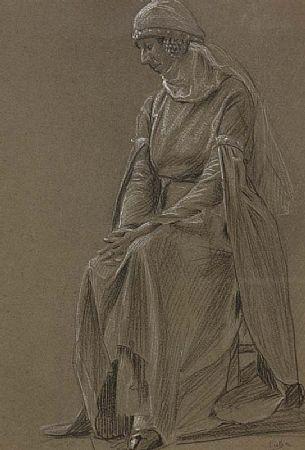 John Luke RUA (1906-1975), Portrait of a Lady at Morgan O'Driscoll Art Auctions