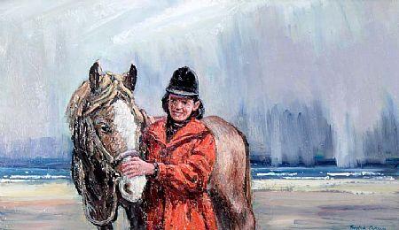 Robert Taylor Carson HRUA (1919-2008), Resting at Morgan O'Driscoll Art Auctions