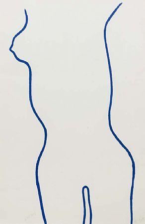William Scott OBE RA (1913-1989), Blue Nude at Morgan O'Driscoll Art Auctions