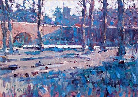 Arthur K. Maderson (b.1942), Lismore Castle, Winter Study at Morgan O'Driscoll Art Auctions